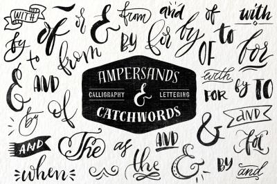 Ampersands & Catchwords