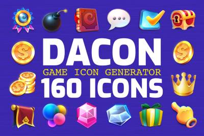 DACON - Game Icon Generator
