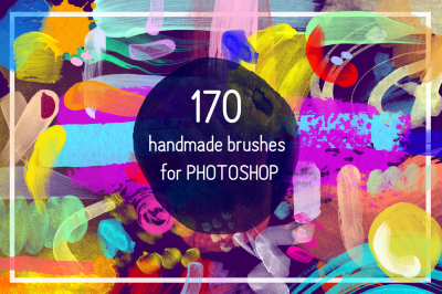 170 Handmade Brushes For Photoshop