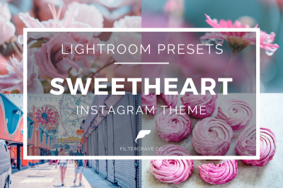 Sweetheart Instagram Theme Lightroom Presets