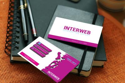 Web Designer Business Card Template