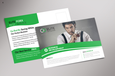 Multi Use Business PostCard Template