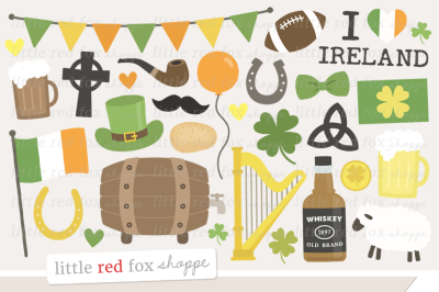 I Love Ireland Clipart