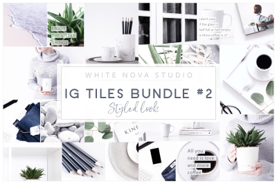 Instagram tiles Bundle #2 Styled Look