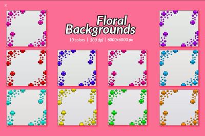 Floral Backgrounds