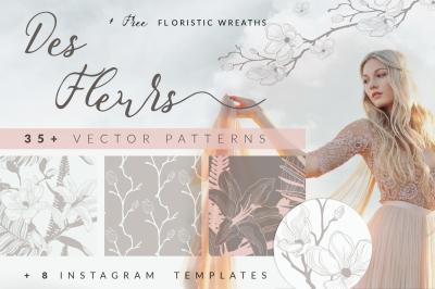 35+ Patterns & 8 Instagram Templates