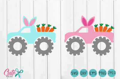 Easter svg,Easter truck, Carrots svg,-Girls svg, Spring,Rabbi