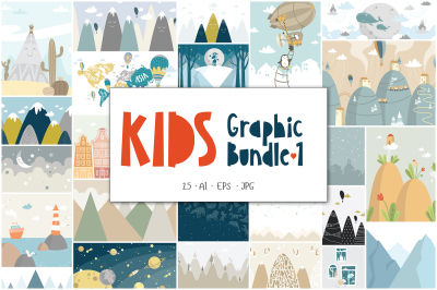 Kids Graphic Bundle - 1