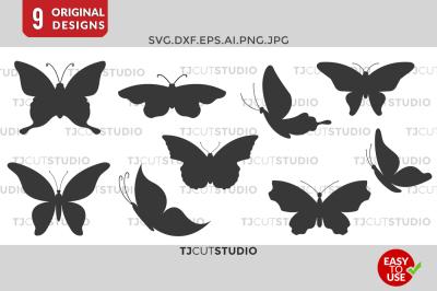 Butterfly Svg, Butterfly Monogram, Butterflies SVG.