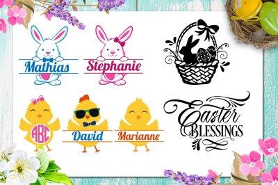 Easter Bundle - 30 Easter SVG files