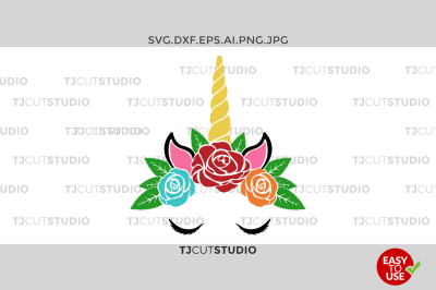 Unicorn SVG, Unicorn Monogram, Unicorn Face.