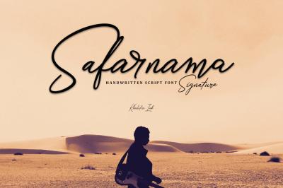 Safarnama Signature