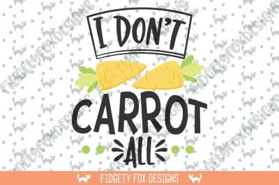 Carrot Easter Svg Dxf Cutting file for cameo and cricut