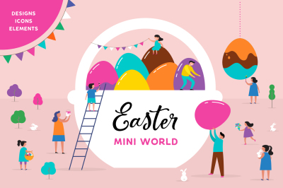 Easter mini world collection