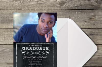 Chalkboard Graduate