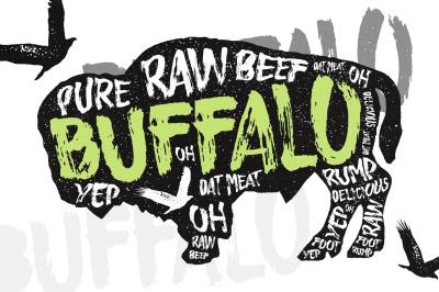 Buffalo - Typeface