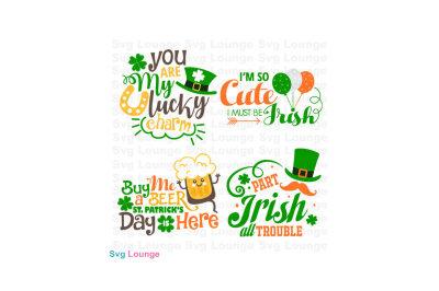 St Patricks Day SVG Cut File