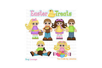 Easter Treats SVG Cut File