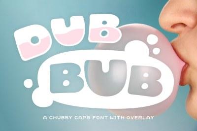 DubBub Mini Font