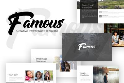 Famous - Creative Presentation