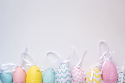 The happy easter
