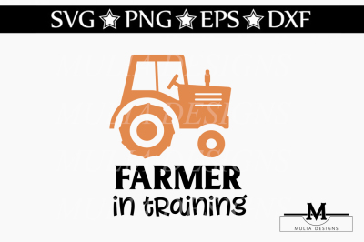 Farmer In Training SVG
