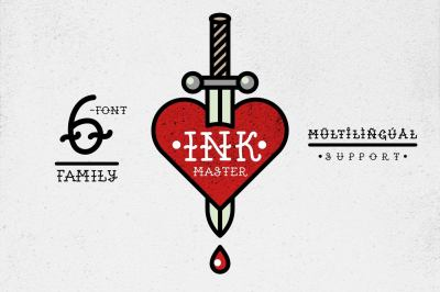 Ink Master (6-font family)