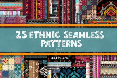 Ethnic seamless patterns-2
