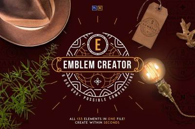 Emblem Creator all in one file -50%