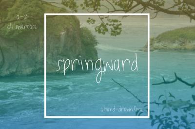 Springward Lowercase