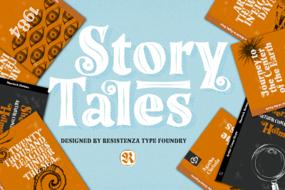 Story Tales 10 fonts