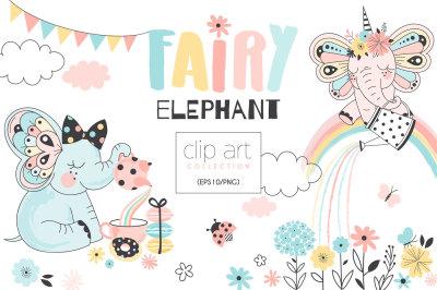 Fairy Elephants creation kit