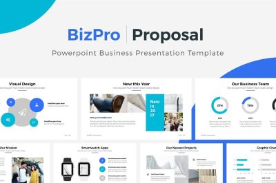 BizPro. Powerpoint Business Template