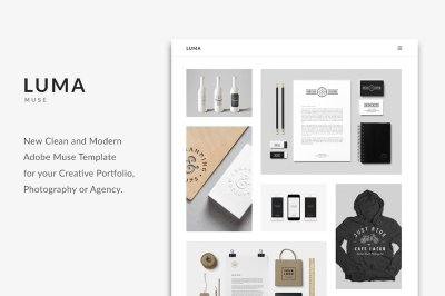 LUMA - Creative Muse Template