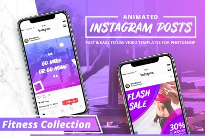 ANIMATED - Modern Instagram Posts