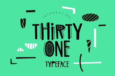 Thirty One Typeface