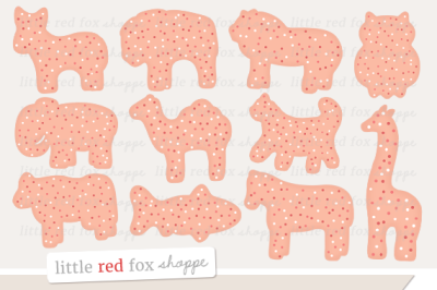 Animal Cookie Clipart