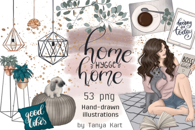 Home Hygge Home Hand Painted Design Kit
