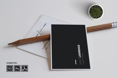 Minimalist Business Card Vol. 03