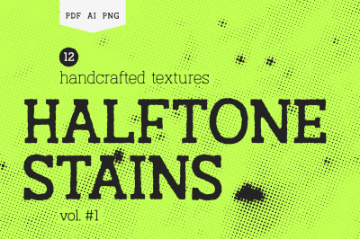 Halftone Stains Vol.#1