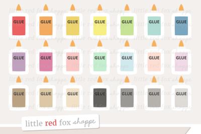 Glue Bottle Clipart