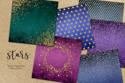 Stars & Digital Paper