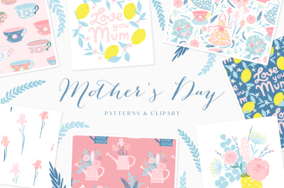 Mother's Day prints and patterns