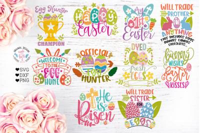 Easter Cut Files Bundle 2 (Ten Designs)