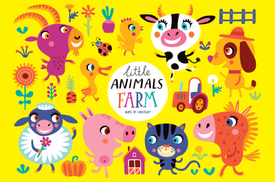 Little animals. FARM