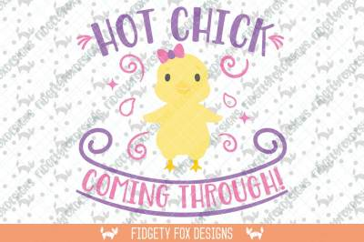 Hot Chick Svg Dxf Cutting file for cameo and cricut Easter svg