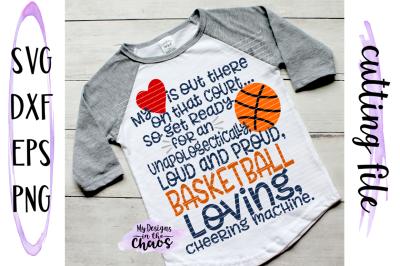 Loud and Proud SVG   Basketball Mom SVG   Basketball SVG   Silhouette