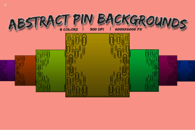 Abstract Pin Background