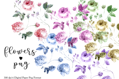 Flowers Png Textures