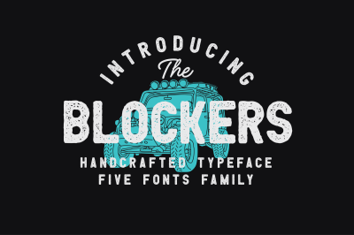 Blockers Font Family